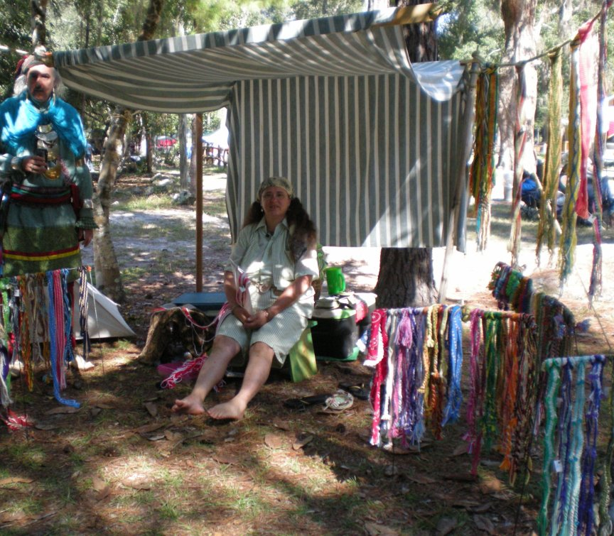 Finger weaving by mary randy
