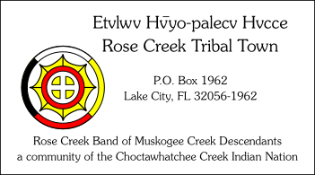 Rose Creek Muskogee Tribal Town
